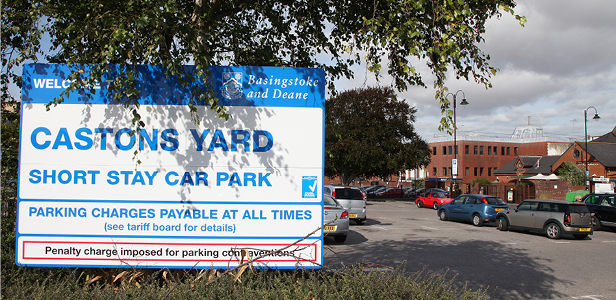 Castons Yard car park