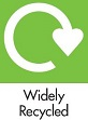 Widely recycled - web