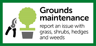 Report a grounds maintenance issue