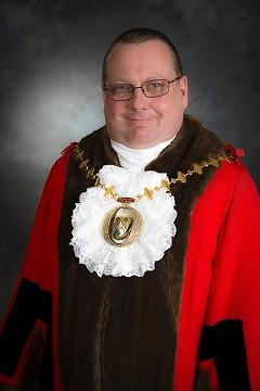 Mayor Cllr Paul Frankum 240