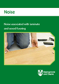 Noise associated with laminate and wood flooring