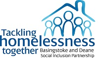 Tackling homelessness together logo