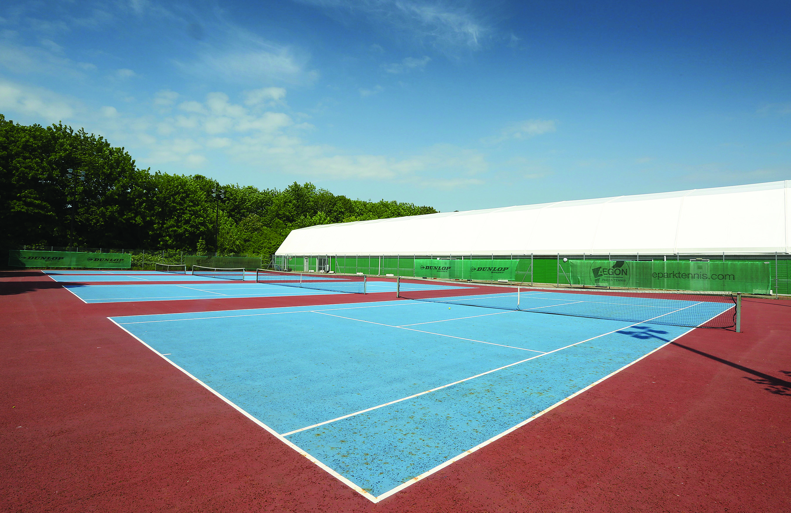 Outdoor tennis courts WMP