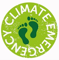 Climate emergency stamp