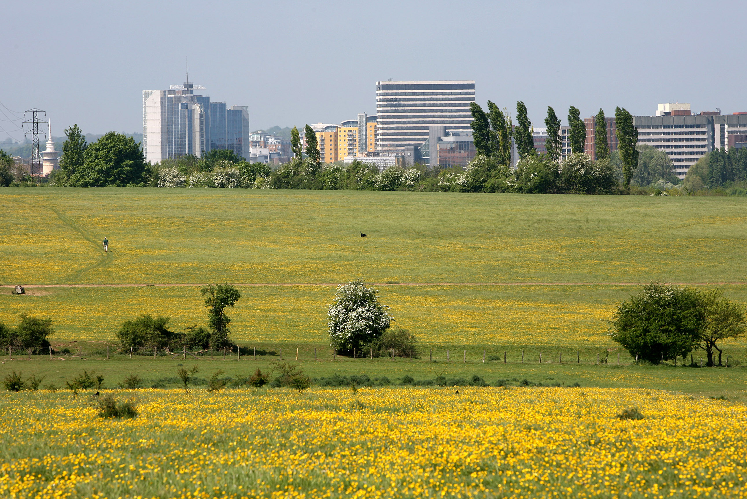 Basingstoke - town centre skyline