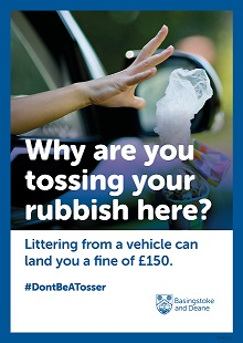 litter posters4 #DontBeATosser campaign