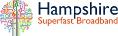Hampshire superfast broadband logo